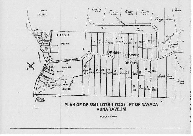 South Taveuni 5 Acre Freehold Lots