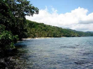 80 acres waterfront land for sale, Savusavu
