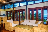 Four Pavilion Home, Soqulu, Taveuni Estates, Fiji - Main Living Room 2