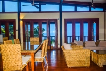Four Pavilion Home, Soqulu, Taveuni Estates, Fiji - Main Living Room