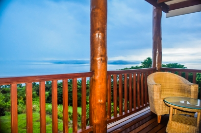 Four Pavilion Home, Soqulu, Taveuni Estates, Fiji - Deck View 6