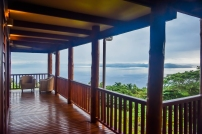 Four Pavilion Home, Soqulu, Taveuni Estates, Fiji - Deck View 5