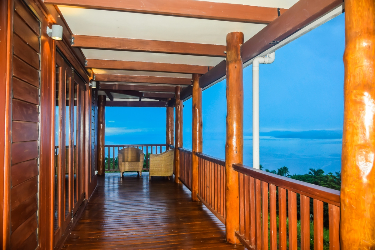 Four Pavilion Home, Soqulu, Taveuni Estates, Fiji - Deck View 4