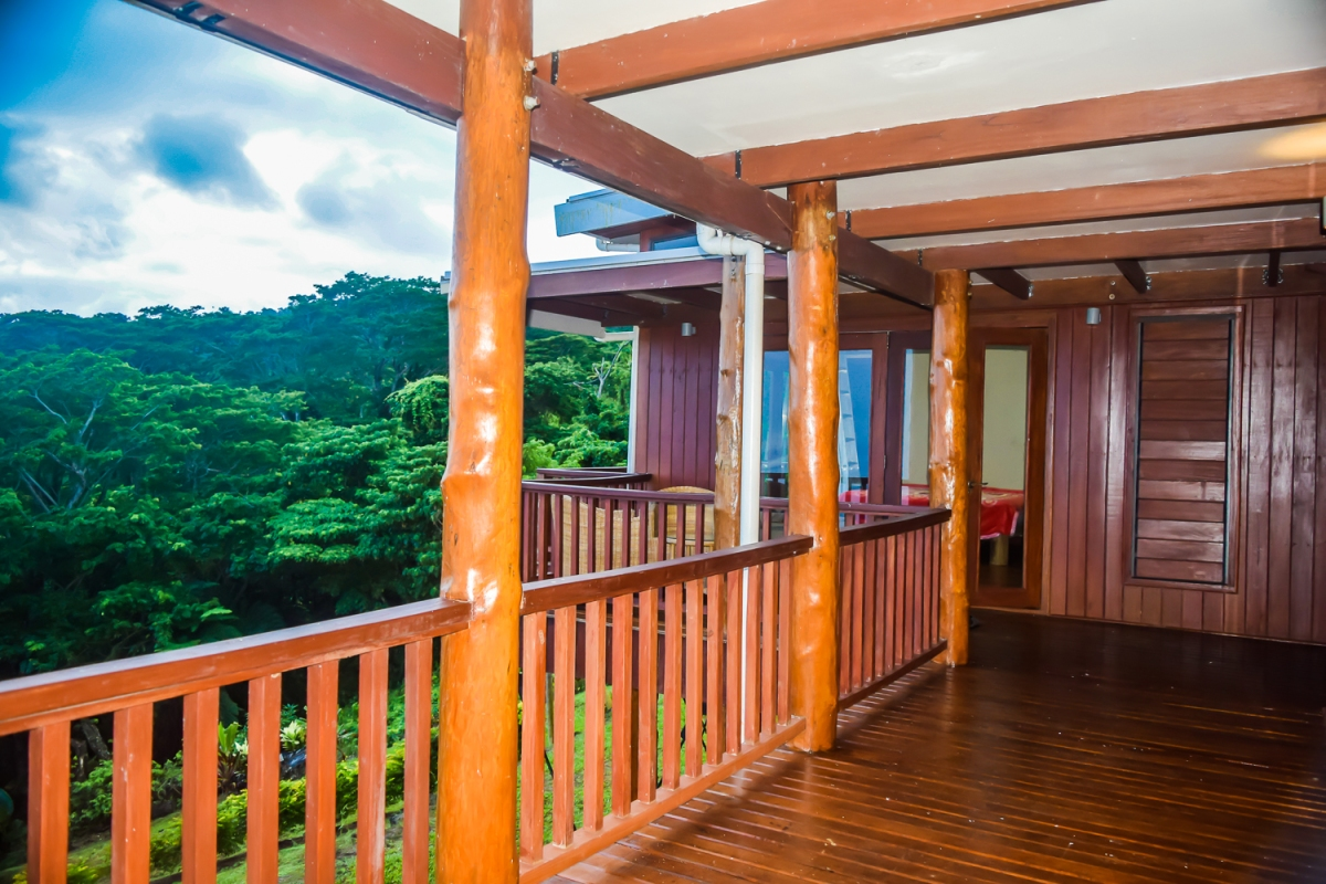 Four Pavilion Home, Soqulu, Taveuni Estates, Fiji - Deck View 3
