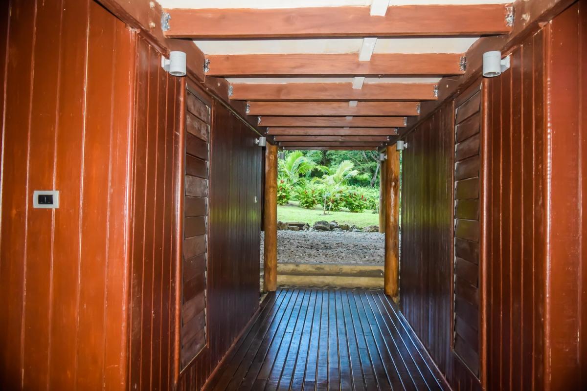Four Pavilion Home, Soqulu, Taveuni Estates, Fiji - Entrance