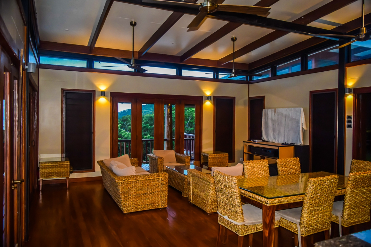 Four Pavilion Home, Soqulu, Taveuni Estates, Fiji - Main Living Area 2