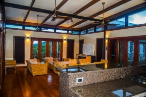 Four Pavilion Home, Soqulu, Taveuni Estates, Fiji - Main Living Area