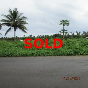 Ocean View Lot Matei SOLD