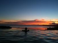 Maravu Paradise Sunset over the Lagoon