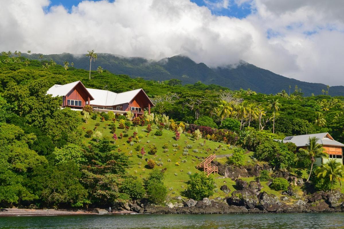 Waterfront living, Soqulu, Taveuni Estates, Fiji