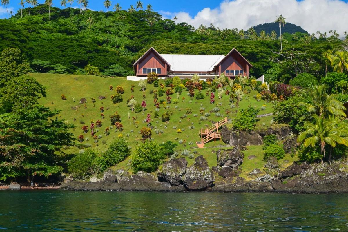 Commanding views and beach access, Soqulu, Taveuni Estates, Fiji