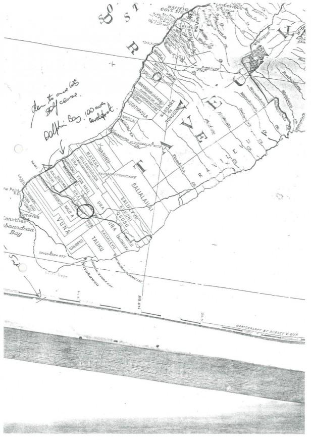 15 Acres Farmland South Taveuni Plan 2