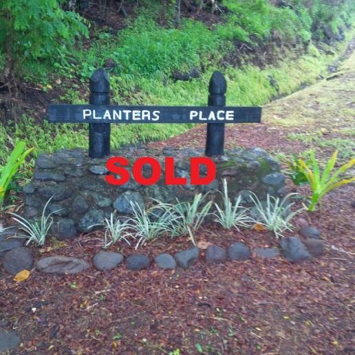 Taveuni Estates Unit 2B Lot 50 SOLD