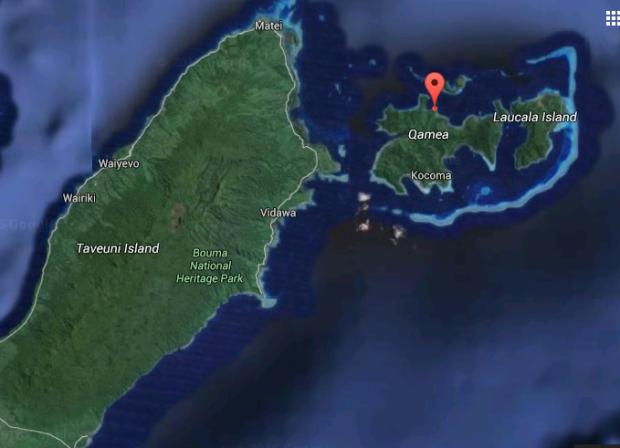 Niubavu Google Earth Taveuni Location