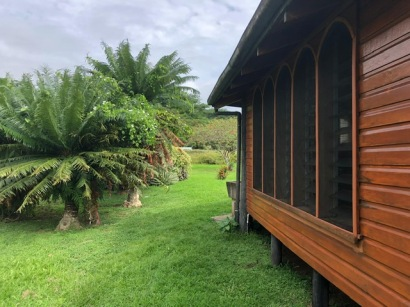 Audrey`s Home - View to Garden